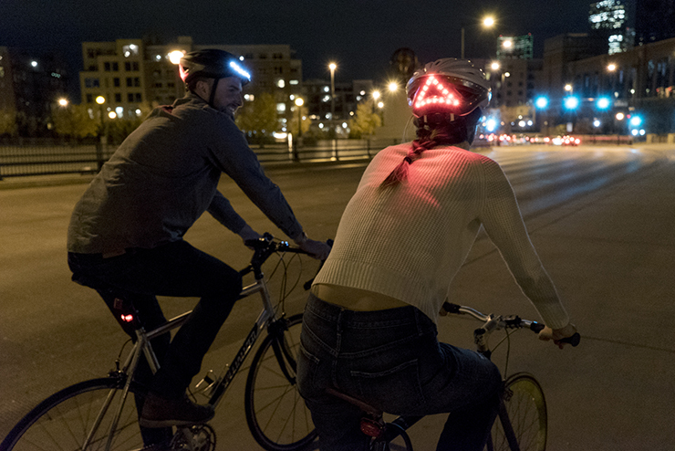 Beazley designs of the year transport winner Lumos bicycle helmet